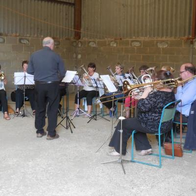 Brass Band for the Barn Service