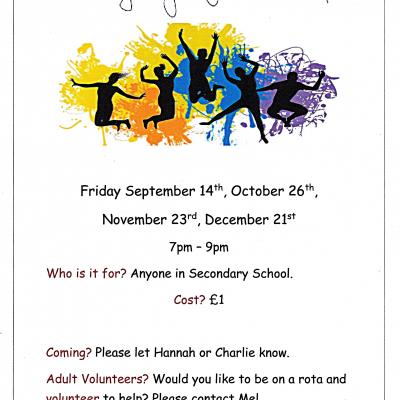 Friday youth group